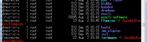 VMware vSphere 5.1 Update(esxcli command)