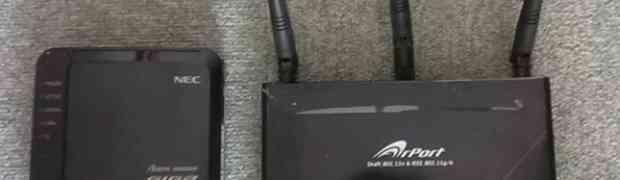無線AP交換(AtermWG600HP)