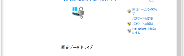 Windows 8.1 ProでBitLocker To Go
