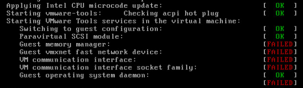 Install VMware Tools 9.4.10.38250 (build-2092844) for Linux Guests