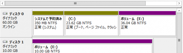 WindowsのBoot HDD(2TBの壁)