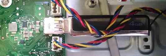 FUJITSU TX1310 M1の内蔵USB 3.0ポート