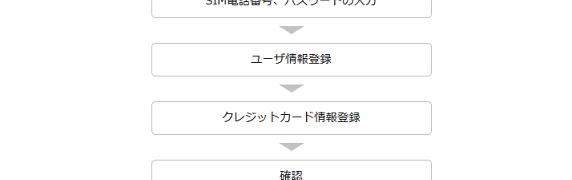デジモノステーション付属 0 SIM by So-netの利用申込み