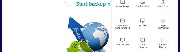 EaseUS Todo Backup Workstationのブータブルディスク作成