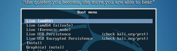 Kali Linuxを使ってみる