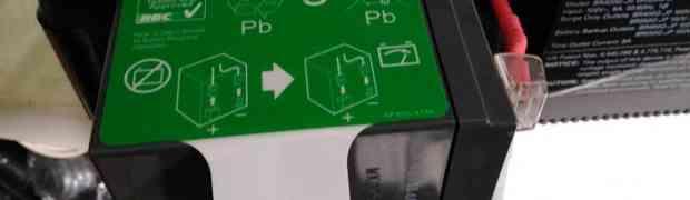 無停電電源装置(APC BR550G-JP E)の交換