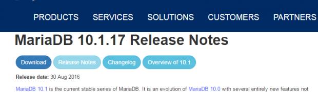 Upgrade MariaDB 5.5.50 to MariaDB 10.1.17(CVE-2016-6662)