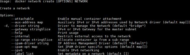 Dockerコンテナのホスト名とIPを指定
