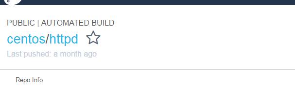 Docker centos/httpdイメージでDockerfileを試してみる