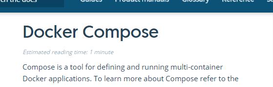 Docker Composeで複数コンテナの起動