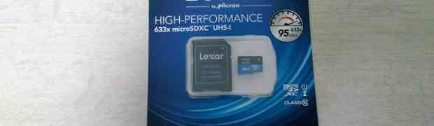 Lexar High-Performance 633x microSDXC 128GB購入