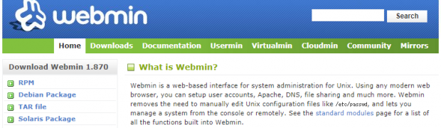 Install Webmin on CentOS 7 with yum