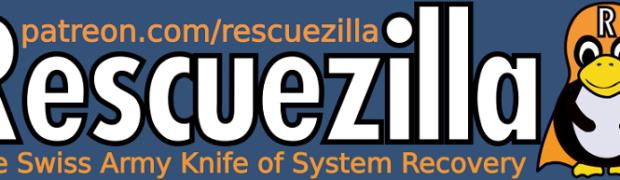 Clonezillaと完全互換のRescuezillaでバックアップ