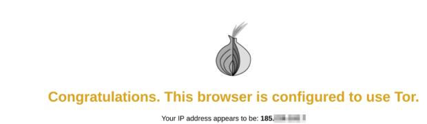 IdeaPad Duet ChromebookのTor(Linux)経由でウェブ閲覧