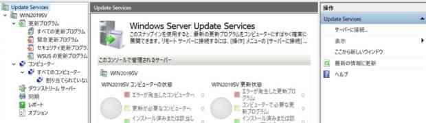 WSUS Setup Wizard on Windows Server 2019